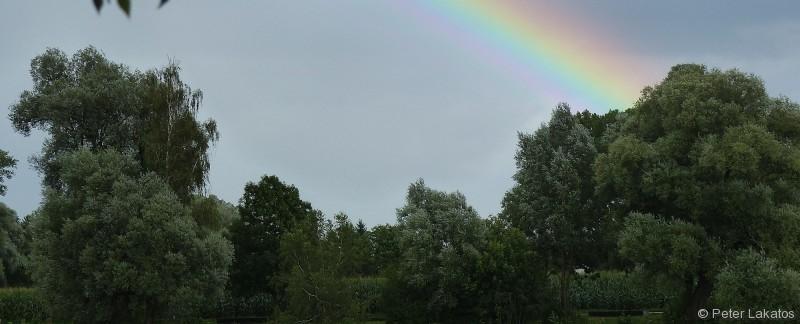 Regenbogen am Feldmochinger See