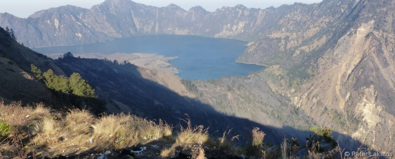 Der Krater des Rinjani