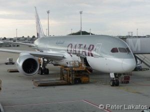 Dreamliner von Qatar Air