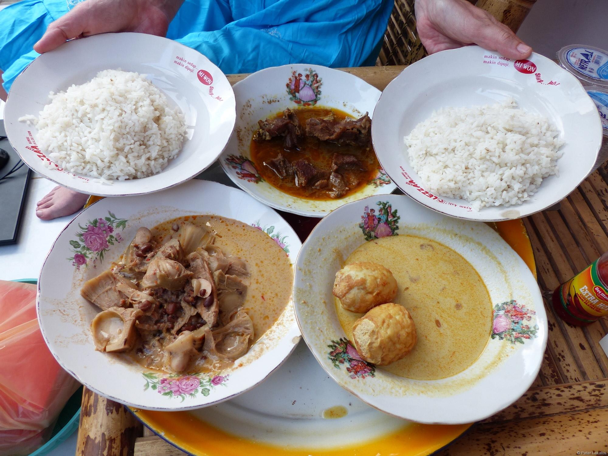 Indonesische Köstlichkeiten