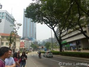 Ankunft in Kuala Lumpur
