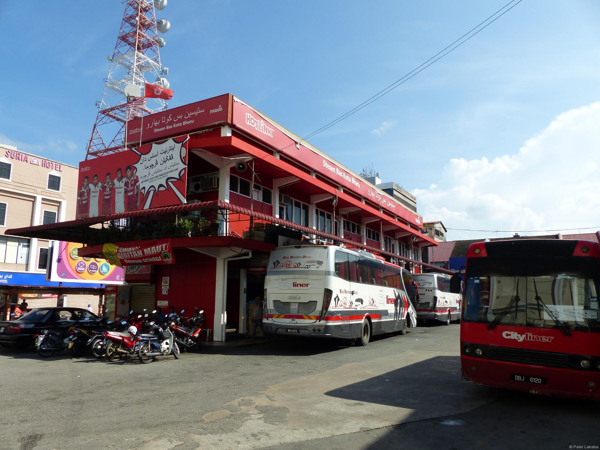 Busbahnhof von Kota Bharu