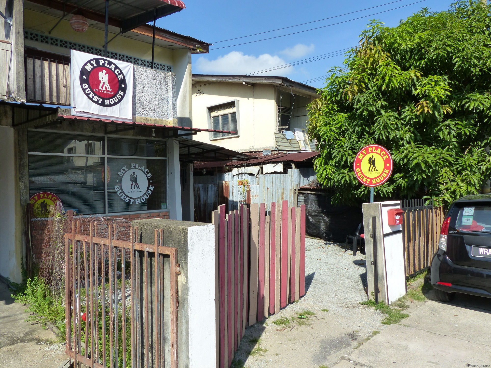 Eingang My Place Guest House