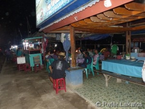 Fischmarkt auf Flores