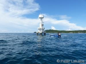 Lighthouse vor Perhentian Kecil