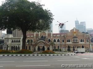 Linker Teil des Sultan Samad Gebäude
