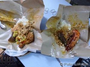 Mahlzeit beim Abenrestaurant