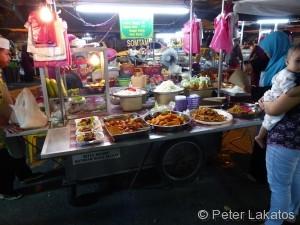 Nachtmarkt von Kota Bharu