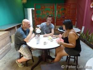 Bei einer Tasse Tee haben wir viel über die Religion und Kultur Chinas erfahren.
