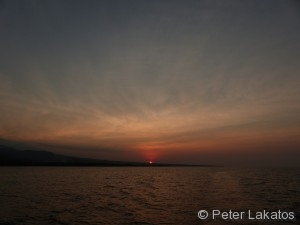 Sonnenuntergang Tag 1