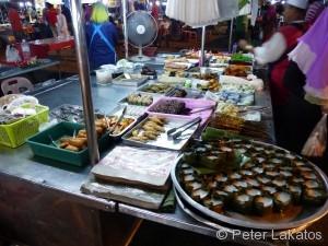 Süßspeisen auf dem Nachtmarkt