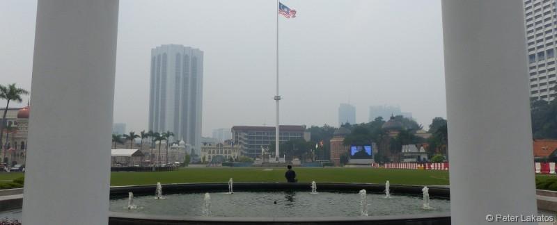 Unabhängigkeitsplatz von Kuala Lumpur
