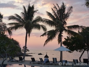 Urlaubsfeeling am Hotel Bintang Flores