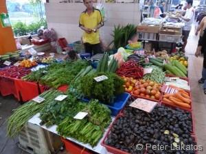 Wochenendmarkt in Kuching