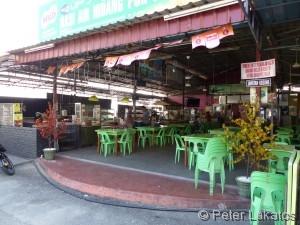 Zahlreiche Food Courts