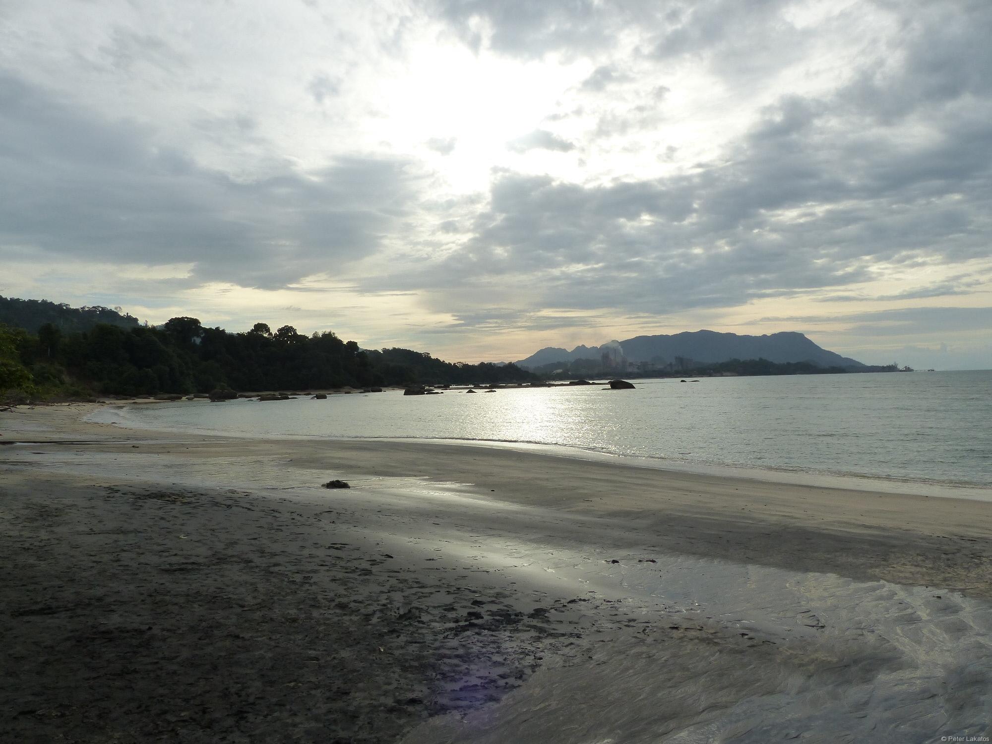 Black Sand Beach Langkawi