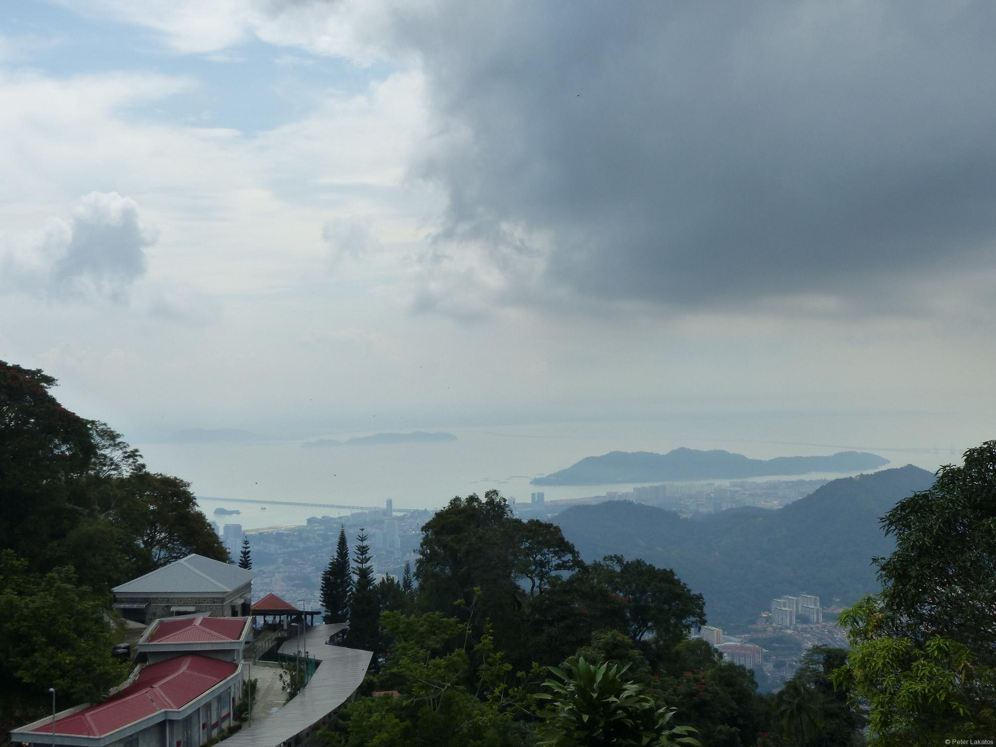 Blick auf Penang