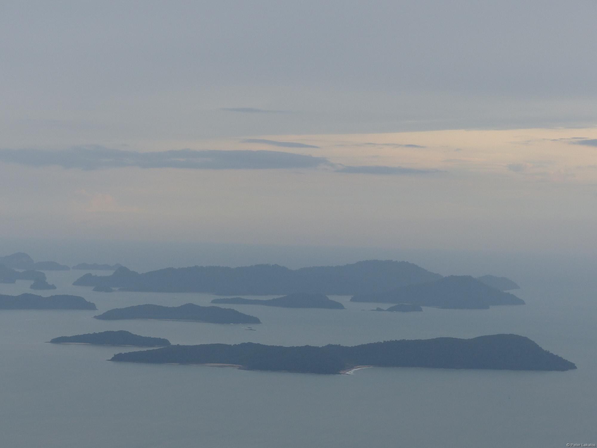 Das Meer konnte man sehen, Thailand nicht