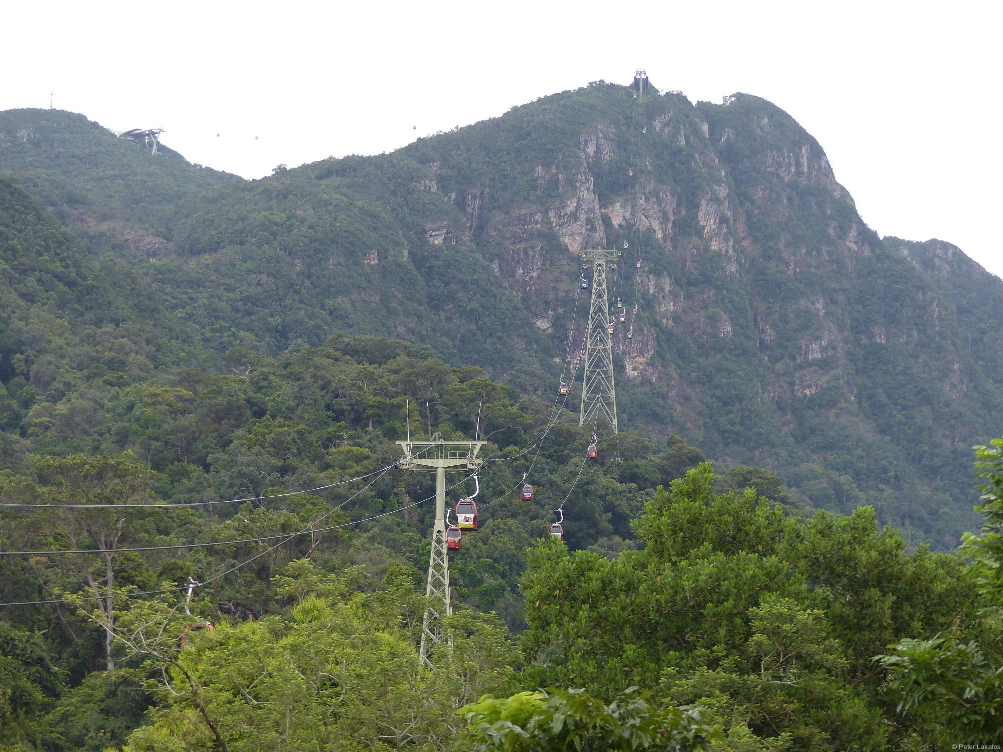 Die Seilbahn von Langkawi