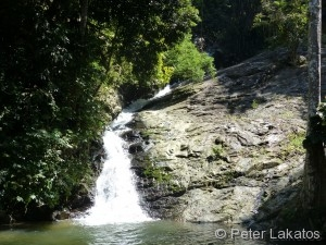 Durian Perangin Wasserfall