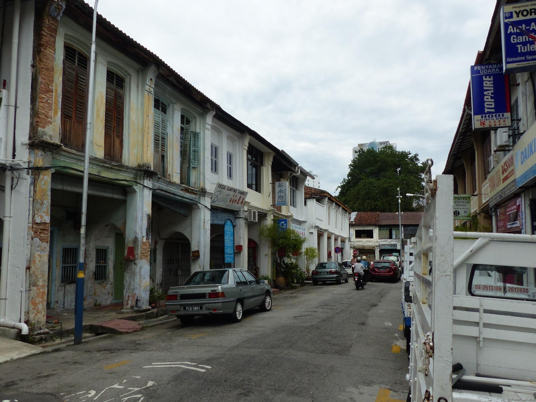 Eine Seitenstraße in Georgetown