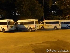 Kleinbus nach Thailand