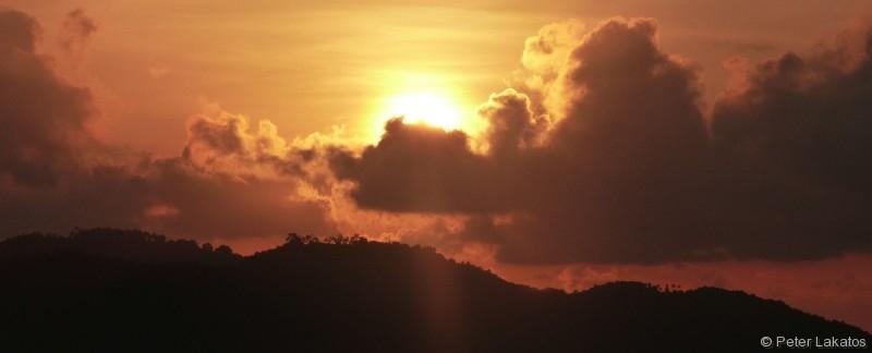 Sonnenaufgang über Koh Samui