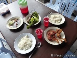 Speis und Trank für 21 Ringgit