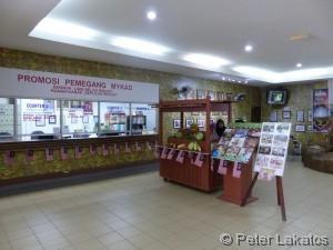 Ticketschalter und Futter Verkaufsstand