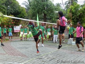 Volley-Fuß-Ball