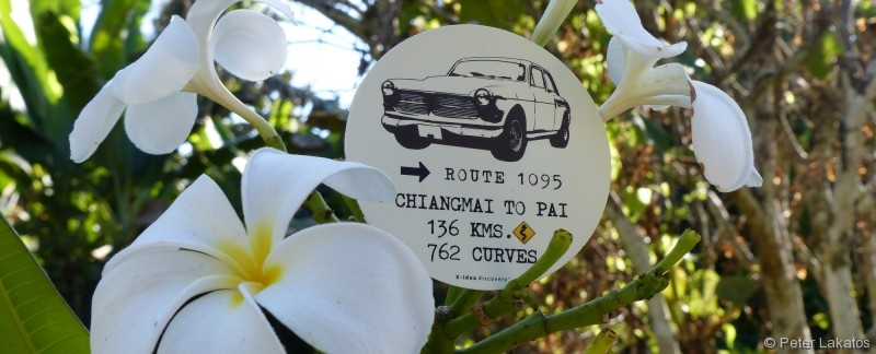 762 Kurven von Chiang Mai nach Pai