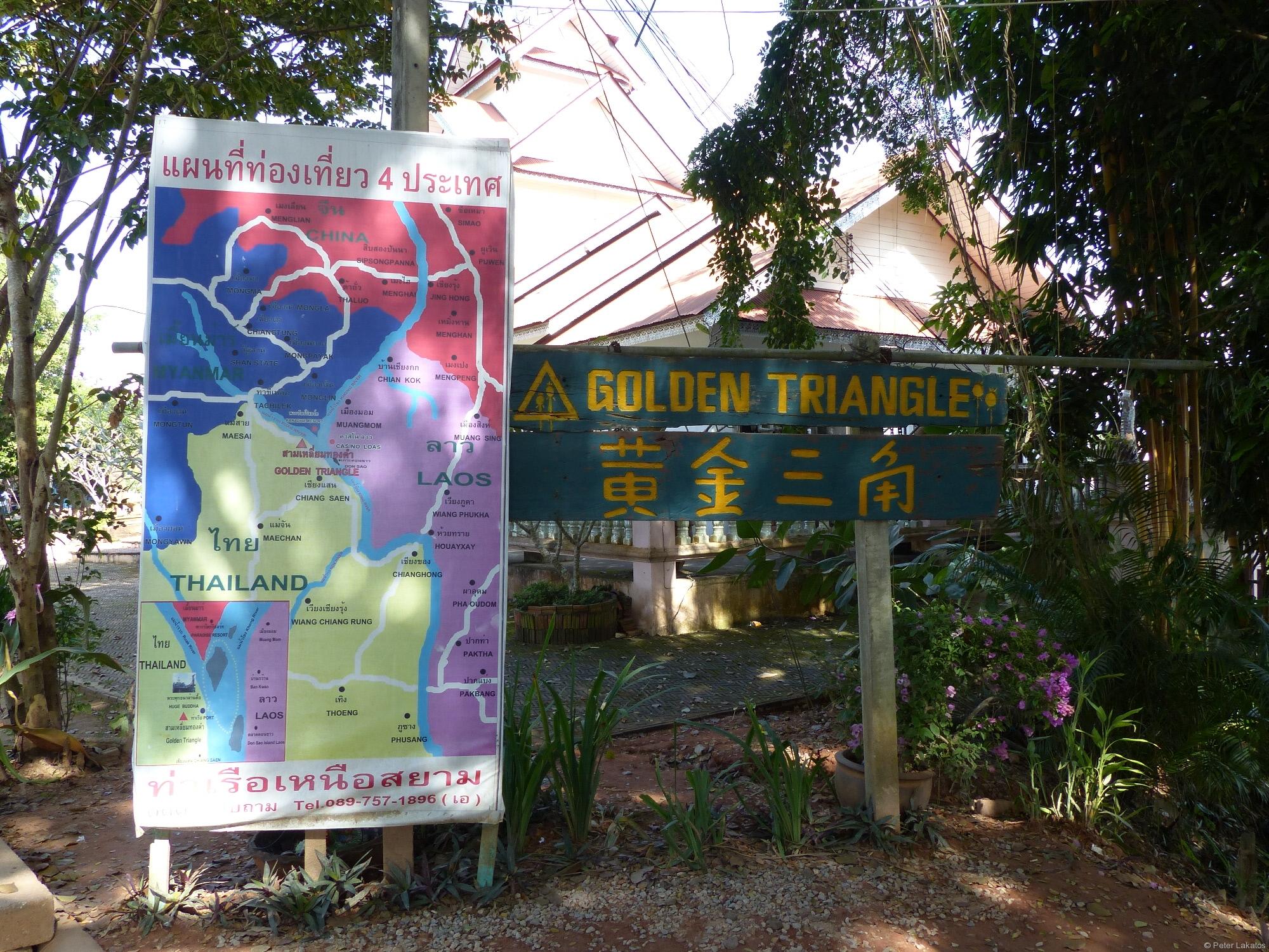 Sehenswürdigkeiten um Chiang Mai - Das Goldene Dreieck