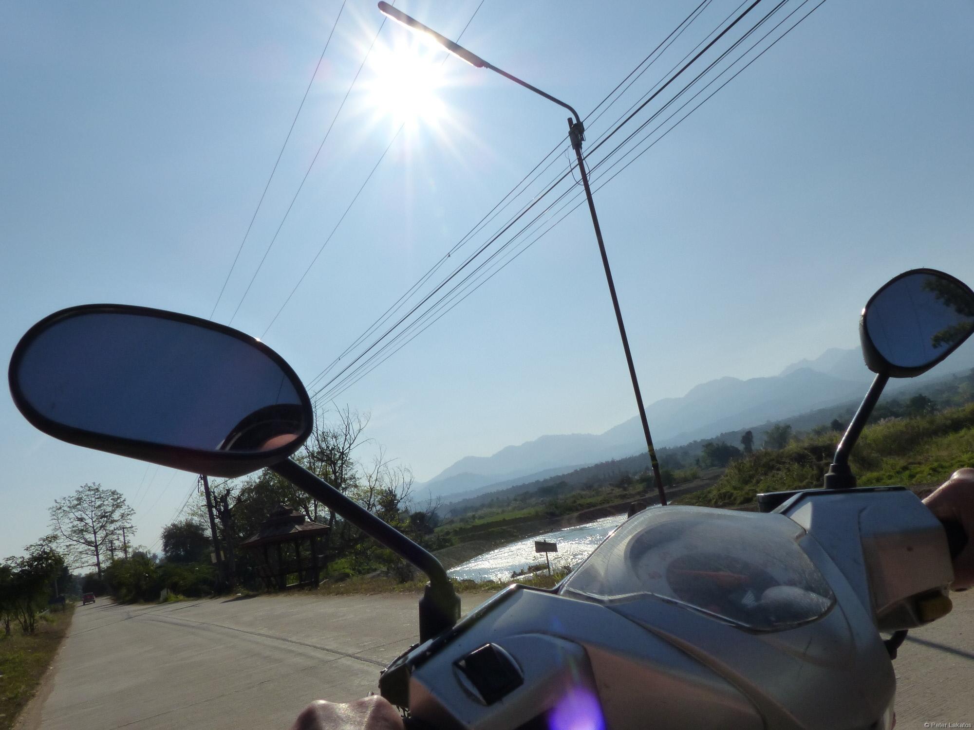 Moped fahren
