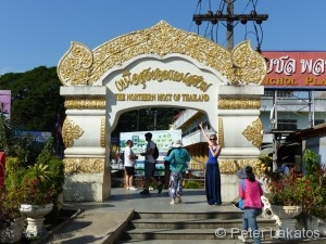Nördlichster Punkt Thailands