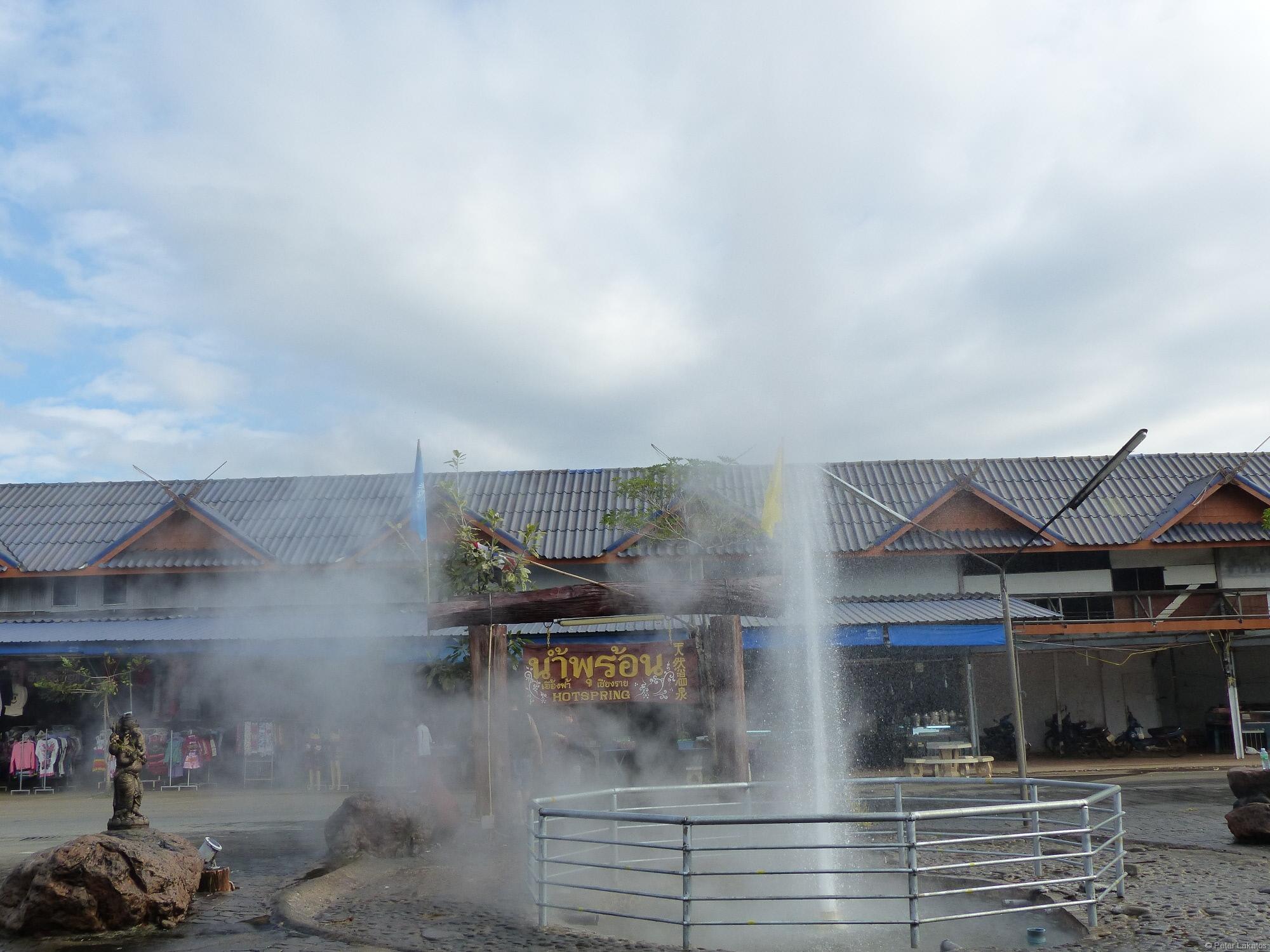 Sehenswürdigkeiten um Chiang Mai - Hot Spring