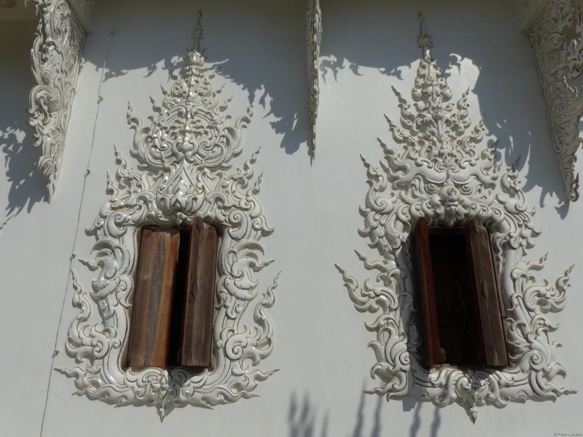 Verzierte Fenster