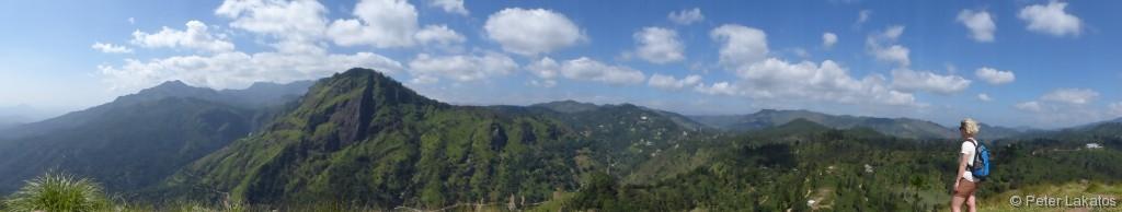 Ausblick vom Small Adam's Peak