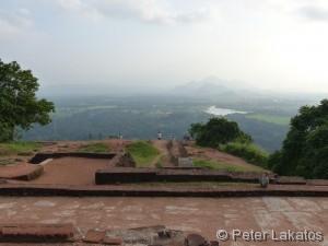 Aussicht vom Sigiriya