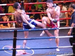 Kick-Box Kampf