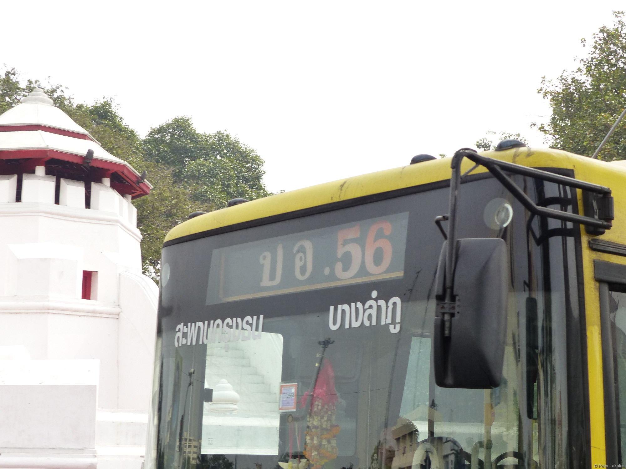 Klimatisierter Linienbus