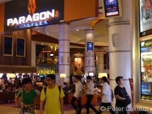 Paragon Cineplex nahe der BTS Station Siam