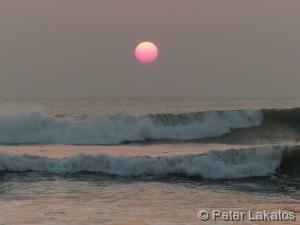 Sonnenuntergang Kalutara