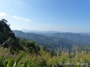 Viewpoint Richtung Mae Hong Son