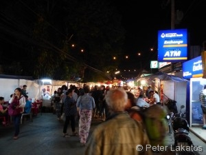 Walking Street in Pai an Silvester