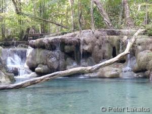 Der Erawan Wasserfall