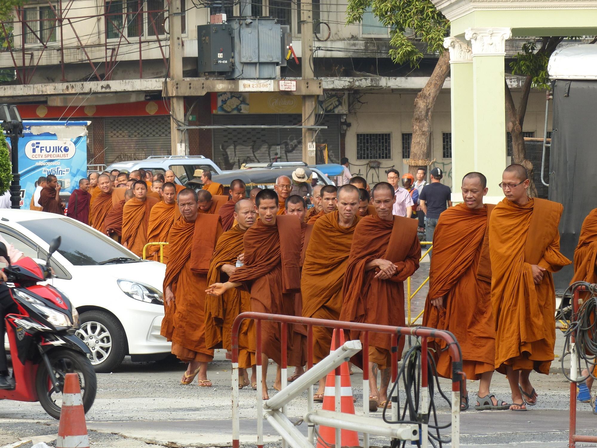 Mönche gesehen