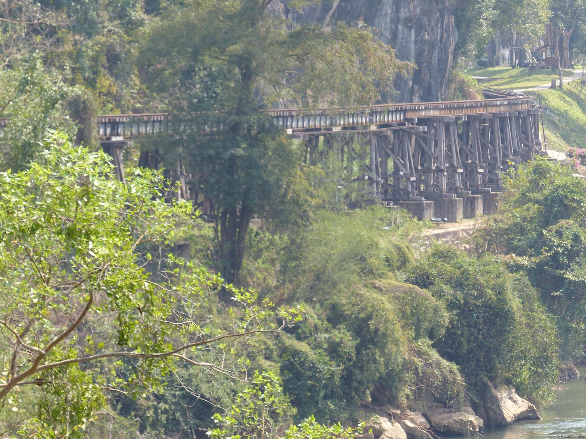 Nicht die Brücke am Kwai
