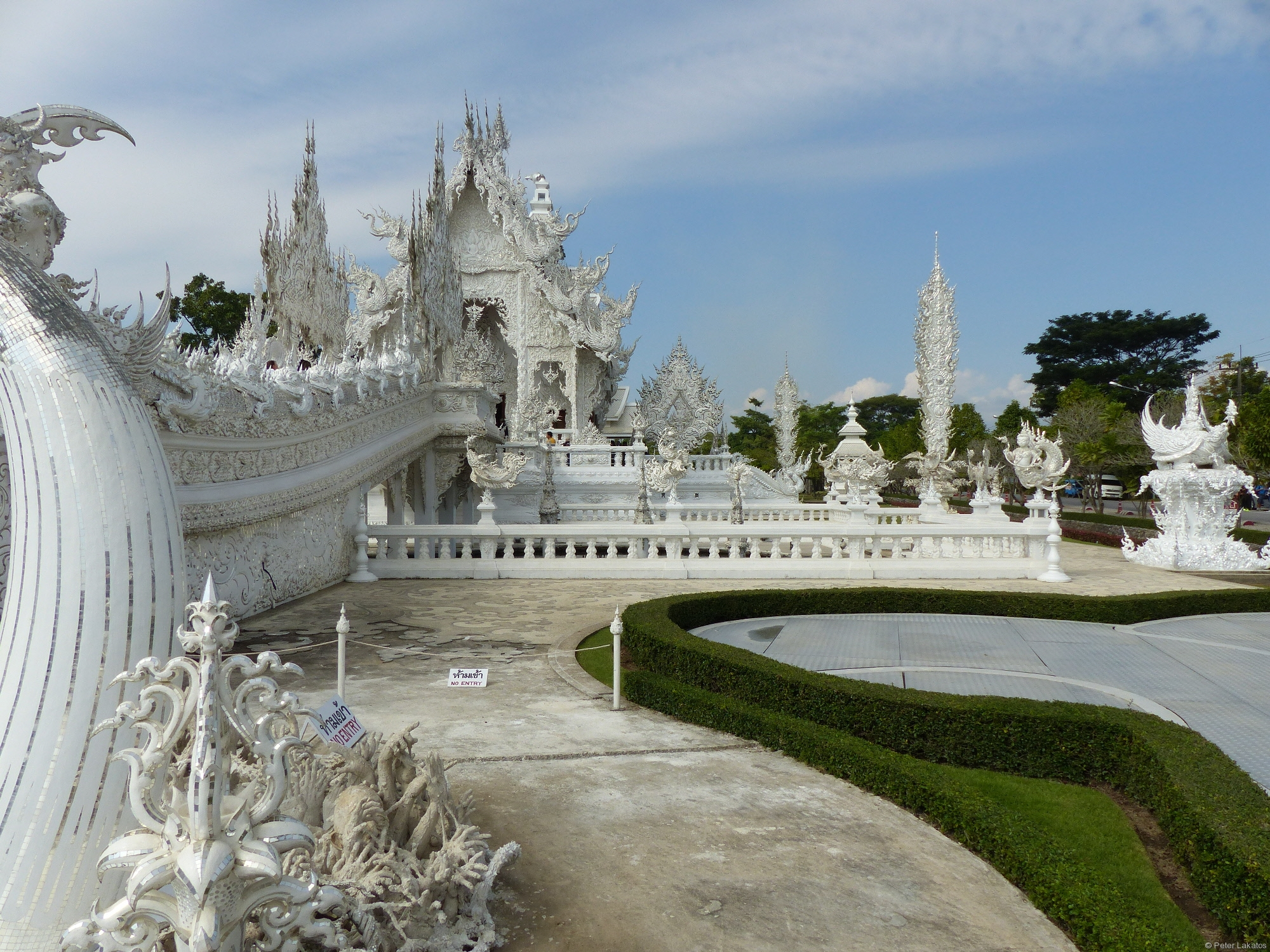 Tempel gesehen