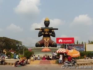 Kleine Stadtrundfahrt durch Battambang