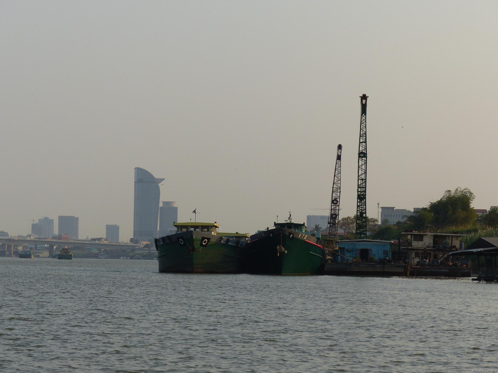 Phnom Penh Hafen